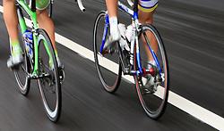 Bikes in last 4th stage of the 15th Tour de Slovenie from Celje to Novo mesto (157 km), on June 14,2008, Slovenia. (Photo by Vid Ponikvar / Sportal Images)/ Sportida)