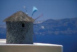 santorini island greece; mountain; ocean