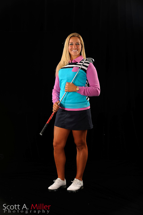 Brittany Johnston during a portrait shoot prior to the Symetra Tour's Florida's Natural Charity Classic at the Lake Region Yacht and Country Club on March 20, 2012 in Winter Haven, Fla. ..©2012 Scott A. Miller.