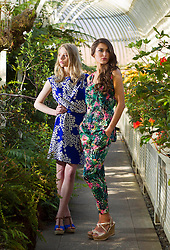 Repro Freee: Pictured are models Rozanna Purcell and Rasma at the launch of Heatons 2013 summer range. The new range is packed full of bright colours and feminine prints, inspired by the latest runway trends. Heatons new collection makes it effortless to look good this summer, with key statement pieces that can be mixed and matched to help make the most of your wardrobe. For more information visit  www.heatonstores.com . Picture Andres Poveda.