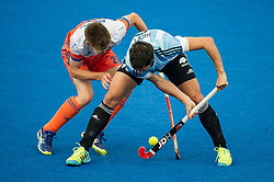 England v Malaysia - 3rd/4th Playoff - Hockey World League Semi Final, Lee Valley Hockey and Tennis Centre, London, United Kingdom on 25 June 2017. Photo: Simon Parker