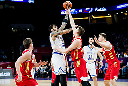 Georgios Printezis of Greece vs Andrey Vorontsevich of Russia during basketball match between National Teams of Greece and Russia at Day 14 in Round of 16 of the FIBA EuroBasket 2017 at Sinan Erdem Dome in Istanbul, Turkey on September 13, 2017. Photo by Vid Ponikvar / Sportida