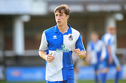 Bristol Rovers' Fabian Broghammer who was later injured in the game - Photo mandatory by-line: Dougie Allward/JMP - Tel: Mobile: 07966 386802 16/07/2013 - SPORT - FOOTBALL - Bristol -  Hereford United V Bristol Rovers - Pre Season Friendly
