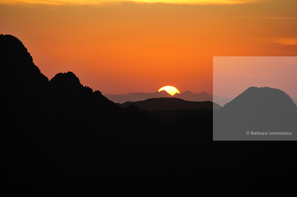 Sunset from the Assekrem, Ahaggar Natioal Park, Tamanrasset, Algeria