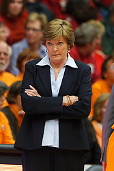 Dec 20, 2011; Stanford CA, USA;  Tennessee Lady Volunteers head coach Pat Summitt on the sidelines against the Stanford Cardinal during the first half at Maples Pavilion.  Mandatory Credit: Jason O. Watson-US PRESSWIRE