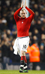 16.01.2011, White Hart Lane, Lundon, ENG, PL, Tottenham Hotspur vs Manchester United, im Bild Wayne Rooney of Manchester United .Barclays Premier League.Tottenham Hotspur v Manchester United.at White Hart Lane, London 16/01/2011. EXPA Pictures © 2011, PhotoCredit: EXPA/ IPS/ Kieran Galvin +++++ ATTENTION - OUT OF ENGLAND/UK and FRANCE/FR +++++