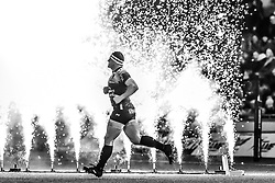 Toulon's Guilhem Guirado runs onto the pitch<br /> <br /> Photographer Craig Thomas/Replay Images<br /> <br /> European Rugby Champions Cup Round 5 - Scarlets v Toulon - Saturday 20th January 2018 - Parc Y Scarlets - Llanelli<br /> <br /> World Copyright © Replay Images . All rights reserved. info@replayimages.co.uk - http://replayimages.co.uk