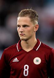 Latvia's Andrejs Ciganiks