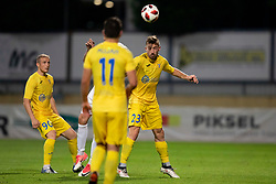 Dario Melnjak of Domzale during football match between NK Domzale and NK Rudar in Round #2 of Prva liga Telekom Slovenije 2018/19, on April 29, 2018 in Sports Park Domzale, Domzale, Slovenia. Photo by Urban Urbanc / Sportida