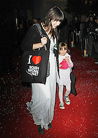 """LONDON - DECEMBER 14:   Daisy Lowe and Betty Lowe attend the special performance of """"The Nutcracker"""" at the London Coliseum, London, UK on December 14, 2011. (Photo by Richard Goldschmidt)"""