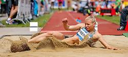 31.05.2015, Moeslestadion, Goetzis, AUT, 41. Hypo Meeting 2015, Siebenkampf der Frauen, Weitsprung, im Bild Verena Preiner (AUT) // Verena Preiner of Austria during the 41. Hypo Meeting Goetzis 2015, Women' s Heptathlon, Long jump, at the Moeslestadion, Goetzis, Austria on 2015/05/31. EXPA Pictures © 2015, PhotoCredit: EXPA/ Peter Rinderer