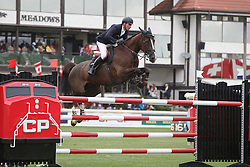 Duguet Romain, (FRA), Quorida de Treho <br /> CP International Grand Prix presented by Rolex<br /> Spruce Meadows Masters - Calgary 2015<br /> © Hippo Foto - Dirk Caremans<br /> 13/09/15