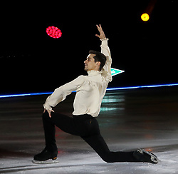 November 18, 2018 - 18 november 2018 (Malaga) Málaga surrenders to the spectacle of Javier Fernández an unforgettable event in which Javier Fernández Olympic bronze and world champion Anthological night that was lived by the more than 10,500 spectators who attended the Malaga event of Revolution on Ice, the show of ice skating and live music with which Javier Fernández is touring five of the main Spanish cities. (Credit Image: © Lorenzo Carnero/ZUMA Wire)