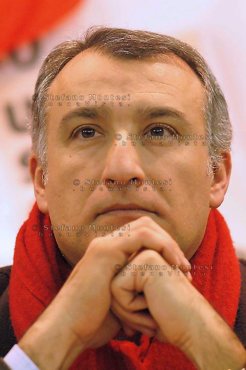 Piero Marrazzo, Governatore della Regione Lazio per il centrosinistra.Piero Marrazzo, president of region Lazio