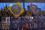 Fiat Auxilium Torino tifosi <br /> Vanoli Cremona - Fiat Auxilium Torino<br /> Lega Basket Serie A 2016/2017<br /> Cremona, 12/02/2017<br /> Foto Ciamillo-Castoria