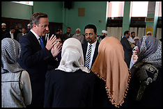 David Cameron Jamia Mosque visit 07082013