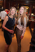 EDWINA HICKS; MADDISON MAY BRUDENELL; , Book launch for ' Daughter of Empire - Life as a Mountbatten' by Lady Pamela Hicks. Ralph Lauren, 1 New Bond St. London. 12 November 2012.