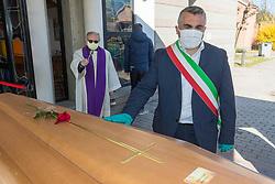 NICOLA NAOMO LODI<br /> ARRIVO SALME DA BERGAMO DESTINATE ALLA CREMAZIONE<br /> EMERGENZA CORONAVIRUS