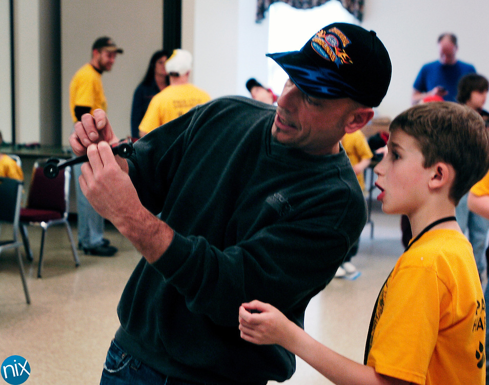 Cub Scout Pack 173's Pinewood Derby in Harrisburg