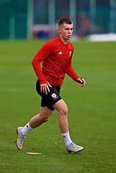 CARDIFF, WALES - Saturday, September 8, 2018: Wales' Ben Woodburn during a training session at the Vale Resort ahead of the UEFA Nations League Group Stage League B Group 4 match between Denmark and Wales. (Pic by David Rawcliffe/Propaganda)