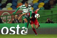 Islam Slimani / Tiago Valente - 09.03.2015 - Sporting / Penafiel - Liga Sagres<br /> Photo : Carlos Rodrigues / Icon Sport