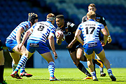 Bradford Bulls prop Jon Magrin (15) during the Kingstone Press Championship match between Halifax RLFC and Bradford Bulls at the MBi Shay Stadium, Halifax, United Kingdom on 2 July 2017. Photo by Simon Davies.