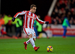 STOKE-ON-TRENT, ENGLAND - Wednesday, November 29, 2017: Stoke City's Xherdan Shaqiri during the FA Premier League match between Stoke City and Liverpool at the Bet365 Stadium. (Pic by David Rawcliffe/Propaganda)