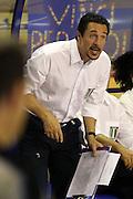 Taranto 04-06-2011<br /> Qualifying Tournament Eurobasket Women 2011<br /> Italia-Serbia<br /> Nella foto Loris Barbiero<br /> Foto di Ciamillo-Castoria