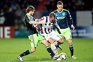 Onderwerp/Subject: Willem II - Ajax - Eredivisie<br /> Reklame:  <br /> Club/Team/Country: <br /> Seizoen/Season: 2012/2013<br /> FOTO/PHOTO: Aurelien JOACHIM (C) of Willem II in duel with Daley BLIND (L) of Ajax. (Photo by PICS UNITED)<br /> <br /> Trefwoorden/Keywords: <br /> #04 $94 ±1342782825903<br /> Photo- & Copyrights © PICS UNITED <br /> P.O. Box 7164 - 5605 BE  EINDHOVEN (THE NETHERLANDS) <br /> Phone +31 (0)40 296 28 00 <br /> Fax +31 (0) 40 248 47 43 <br /> http://www.pics-united.com <br /> e-mail : sales@pics-united.com (If you would like to raise any issues regarding any aspects of products / service of PICS UNITED) or <br /> e-mail : sales@pics-united.com   <br /> <br /> ATTENTIE: <br /> Publicatie ook bij aanbieding door derden is slechts toegestaan na verkregen toestemming van Pics United. <br /> VOLLEDIGE NAAMSVERMELDING IS VERPLICHT! (© PICS UNITED/Naam Fotograaf, zie veld 4 van de bestandsinfo 'credits') <br /> ATTENTION:  <br /> © Pics United. Reproduction/publication of this photo by any parties is only permitted after authorisation is sought and obtained from  PICS UNITED- THE NETHERLANDS