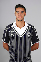 Younes Kaabouni of Bordeaux during the photocall for new season on September 12th 2016 in Bordeaux<br /> Photo : FCGB / Le Lann / Icon Sport