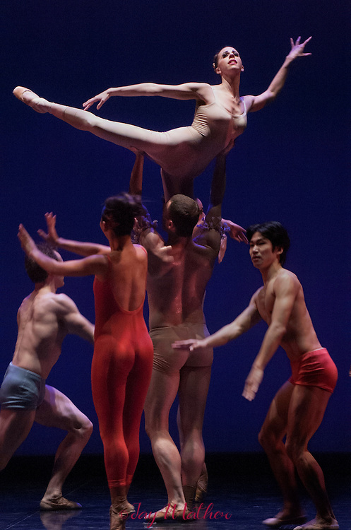 Sacramento Ballet performance Carmina Burana, choreographed by Ron Cunningham, artistic director of the company.  February 2006.