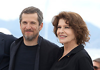 Actor Guillaume Canet and actress Fanny Ardant at La Belle Epoque film photo call at the 72nd Cannes Film Festival, Tuesday 21st May 2019, Cannes, France. Photo credit: Doreen Kennedy