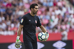 August 15, 2017 - Girona, Spain - 01 Gorka Iraizoz from Spain of Girona FC during the Costa Brava Trophy match between Girona FC and Manchester City at Estadi de Montilivi on August 15, 2017 in Girona, Spain. (Credit Image: © Xavier Bonilla/NurPhoto via ZUMA Press)