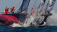 UAE. 4th January 2012. Volvo Ocean Race, Leg 2, arrival into Abu Dhabi. PUMA powered by BERG.