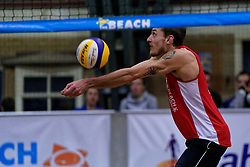 04-01-2020 NED: NK Beach volleyball Indoor, Aalsmeer<br /> Cain van Hal #1