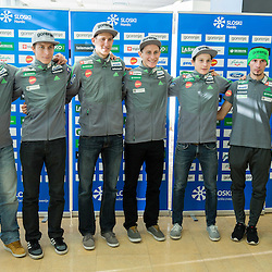 20151118: SLO, Nordic Ski - Press conference of Slovenian Ski Jumping teams