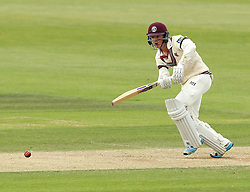 Somerset's Tom Abell bats - Photo mandatory by-line: Robbie Stephenson/JMP - Mobile: 07966 386802 - 23/06/2015 - SPORT - Cricket - Southampton - The Ageas Bowl - Hampshire v Somerset - County Championship Division One