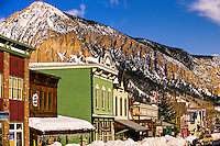 Town of Crested Butte, Colorado USA