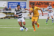 Forest Green Rovers Fabien Robert(26) runs forward during the The FA Cup 4th qualifying round match between Sutton United and Forest Green Rovers at Gander Green Lane, Sutton, United Kingdom on 15 October 2016. Photo by Shane Healey.