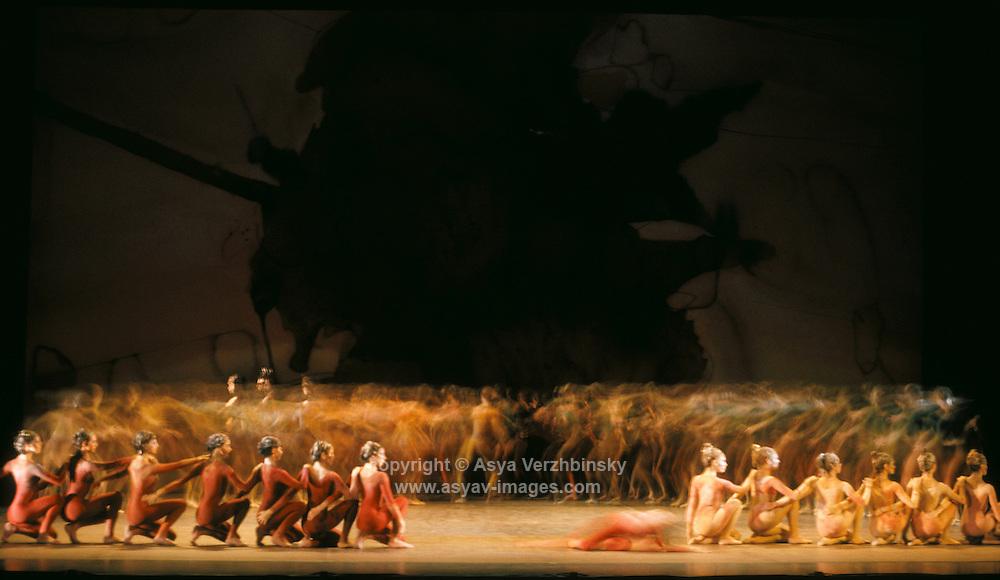 "English National Ballet (ENB) in Sir Kenneth MacMillan's ""Rite of Spring"""
