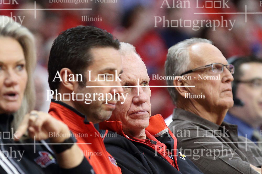 21 February 2018:  Doug Collins during a College mens basketball game between the Drake Bulldogs and Illinois State Redbirds in Redbird Arena, Normal IL