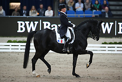 Tebar Karen, (FRA), Don Luis<br /> Grand Prix Special<br /> Reem Acra FEI World Cup Dressage<br /> Stuttgart - German Masters 2015<br /> © Hippo Foto - Stefan Lafrentz