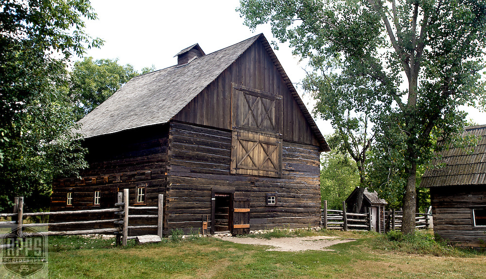 A collection of Barns that still can be seen while traveling the countryside in  the beautiful State of Wisconsin.<br /> Finnish Horse Barn. Old World Wisconsin. Barns from around the State of Wisconsin.