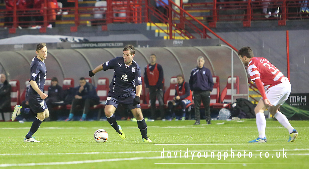 Peter MacDonald - Hamilton Academical v Dundee, SPFL Championship at New Douglas Park<br /> <br />  - &copy; David Young - www.davidyoungphoto.co.uk - email: davidyoungphoto@gmail.com