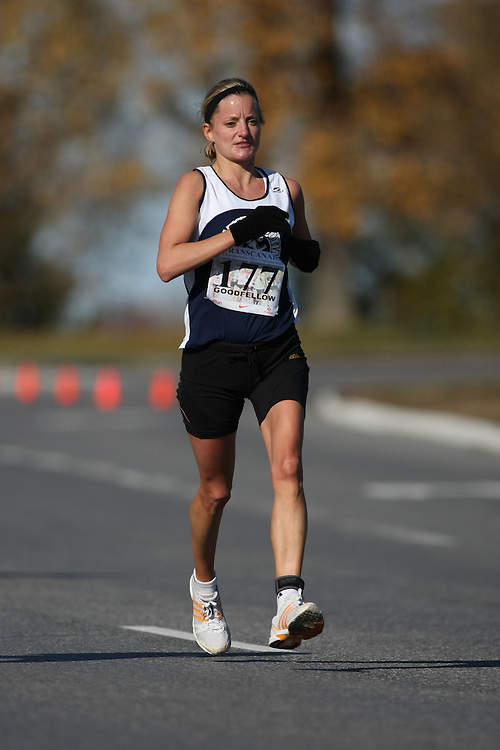 (Ottawa, ON---18 October 2008) HEATHER GOODFELLOW competes in the 2008 TransCanada 10km Canadian Road Race Championships. Photograph copyright Sean Burges/Mundo Sport Images (www.msievents.com).