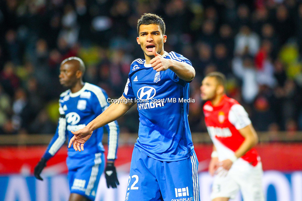 Lindsay ROSE  - 01.02.2015 - Monaco / Lyon - 23eme journee de Ligue 1 -<br /> Photo : Serge Haouzi / Icon Sport