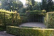 Heckentheater, Schlosspark Belvedere, Weimar, Thüringen, Deutschland | hedge theatre, palace park Belvedere, Weimar, Thuringia, Germany