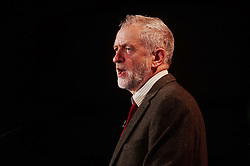 © Licensed to London News Pictures. 03/03/2016 London UK. Leader of the Opposition, Rt Hon Jeremy Corbyn speaks at The British Chamber of Commerce Annual Conference at The QE ll Conference Centre, Westminster.<br /> Photo credit : Simon Jacobs/LNP