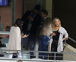 EXCLUSIVE: Love Island's Natasha Webster is seen watching the Western Force v Hong Kong Dragons (World Series Rugby) with 2017 Australian Survivor contestant Luke Toki at Nib Stadium in Perth. 10 Aug 2018 Pictured: Natasha Webster. Photo credit: FM/MEGA TheMegaAgency.com +1 888 505 6342