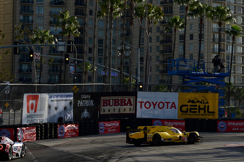 #85 JDC/Miller Motorsports ORECA 07, P: Simon Trummer, Robert Alon<br /> Friday 13 April 2018<br /> BUBBA burger Sports Car Grand Prix at Long Beach<br /> Verizon IndyCar Series<br /> Streets of Long Beach CA USA<br /> World Copyright: Scott R LePage<br /> LAT Images